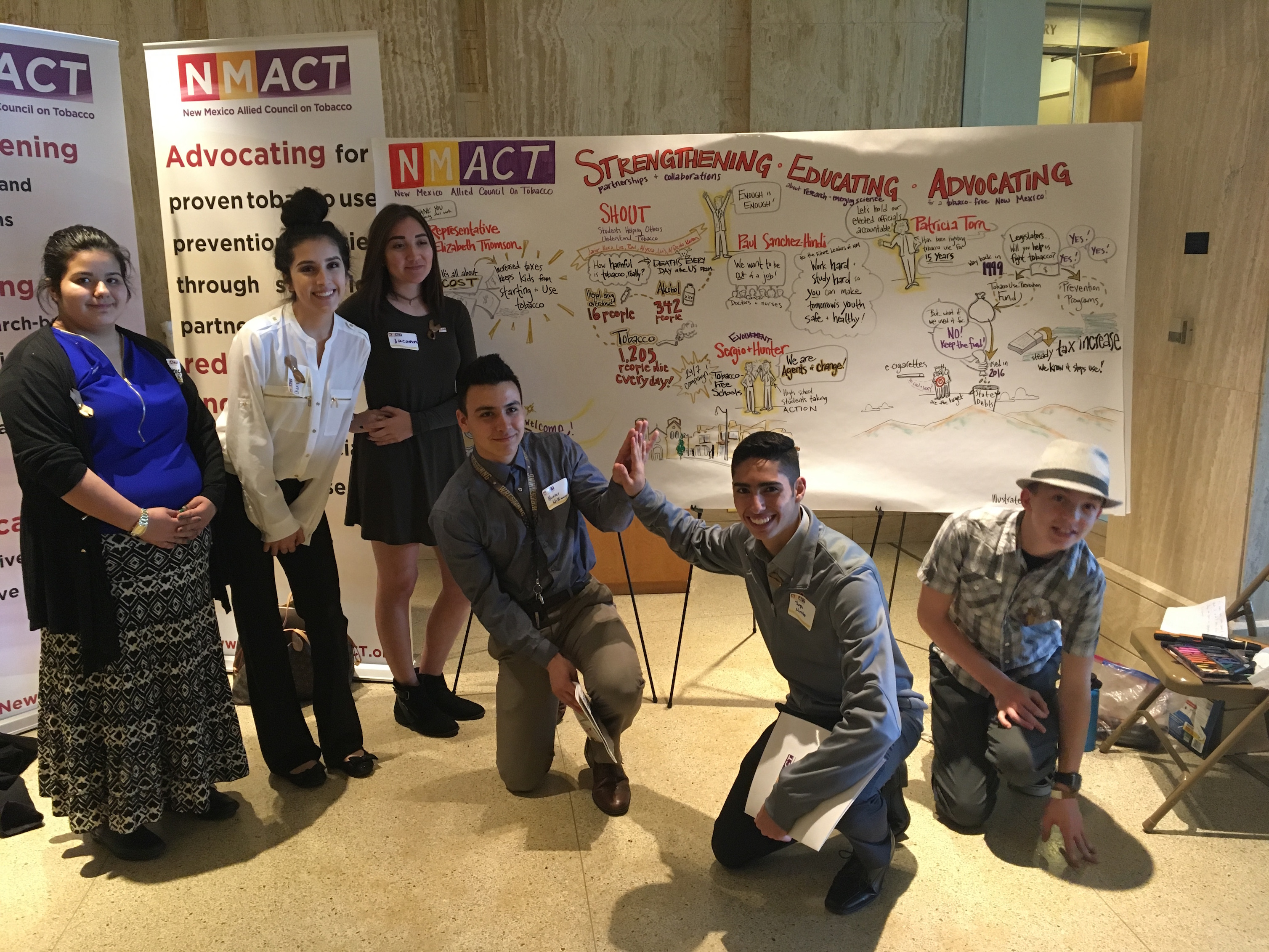 Speaking Out: NMACT Day at the Capitol